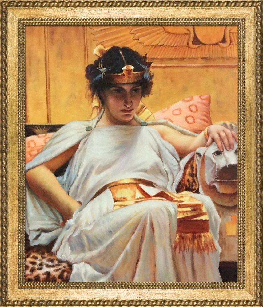 Cleopatra, 1888 Pre-Framed