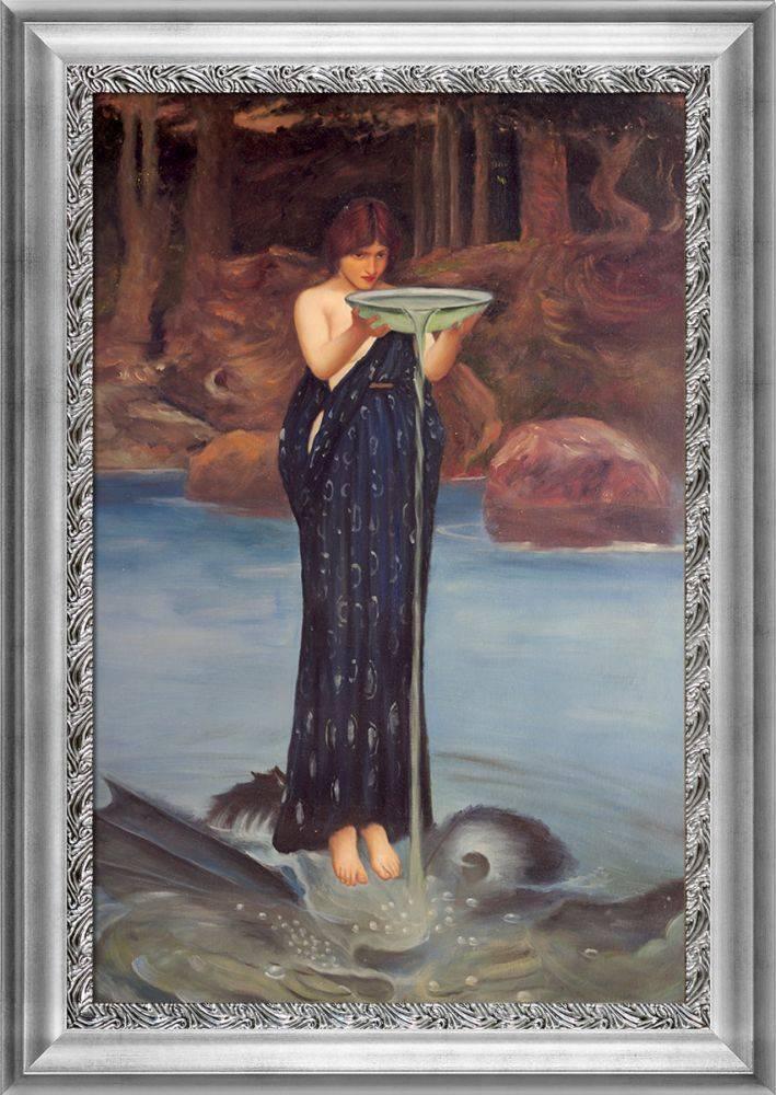 Circe Invidiosa, 1892 Pre-Framed