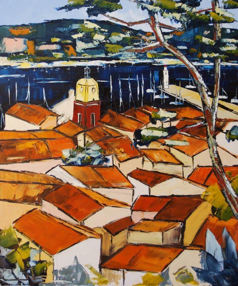 Saint Tropez roofs