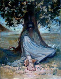 The resting Pilgrim