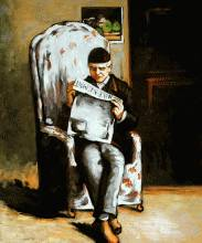 Artist's Father Reading