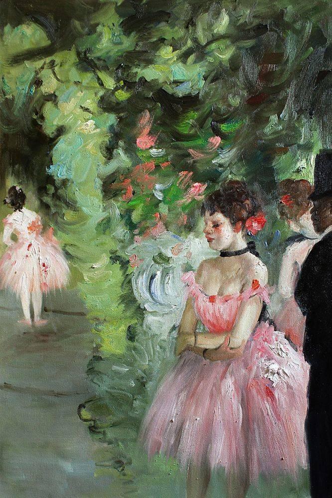 Dancers Backstage