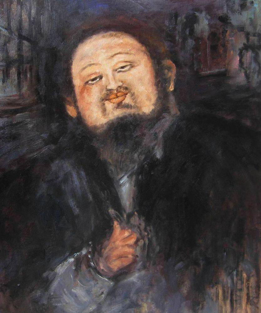 Portrait of Diego Rivera 2