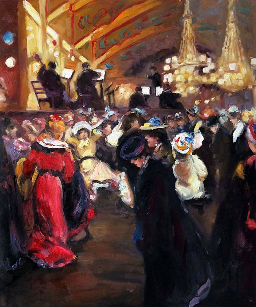 Le Bal au Moulin-Rouge