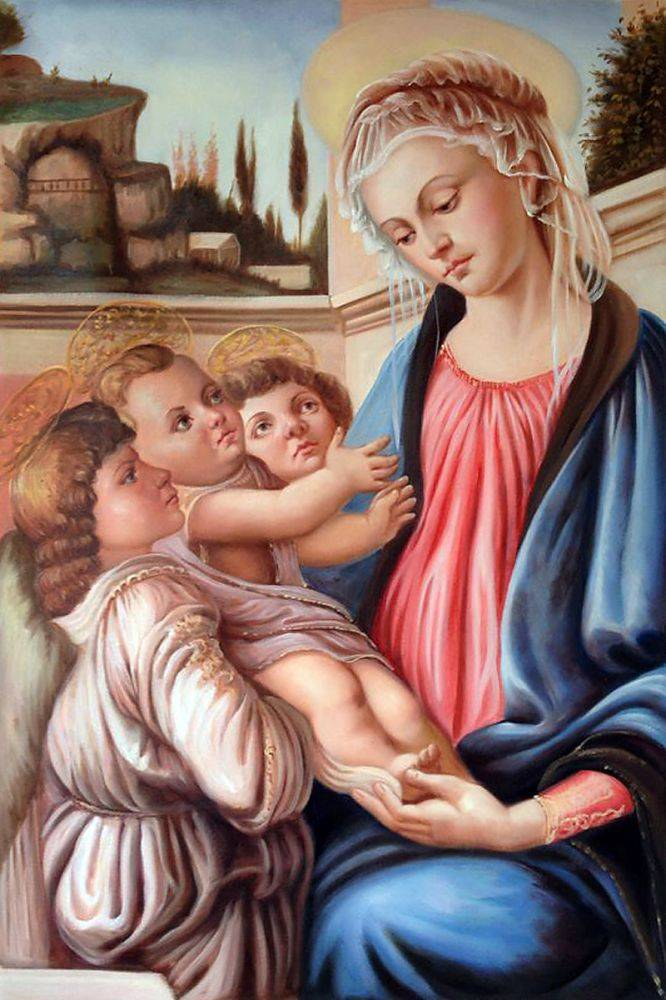 Madonna with two angels