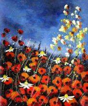 Red Poppies 451140 Reproduction