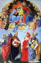 The Coronation of the Virgin (Altarpiece of St. Mark)