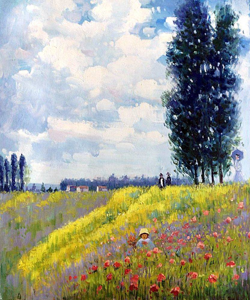 Walk in the Meadows at Argenteuil