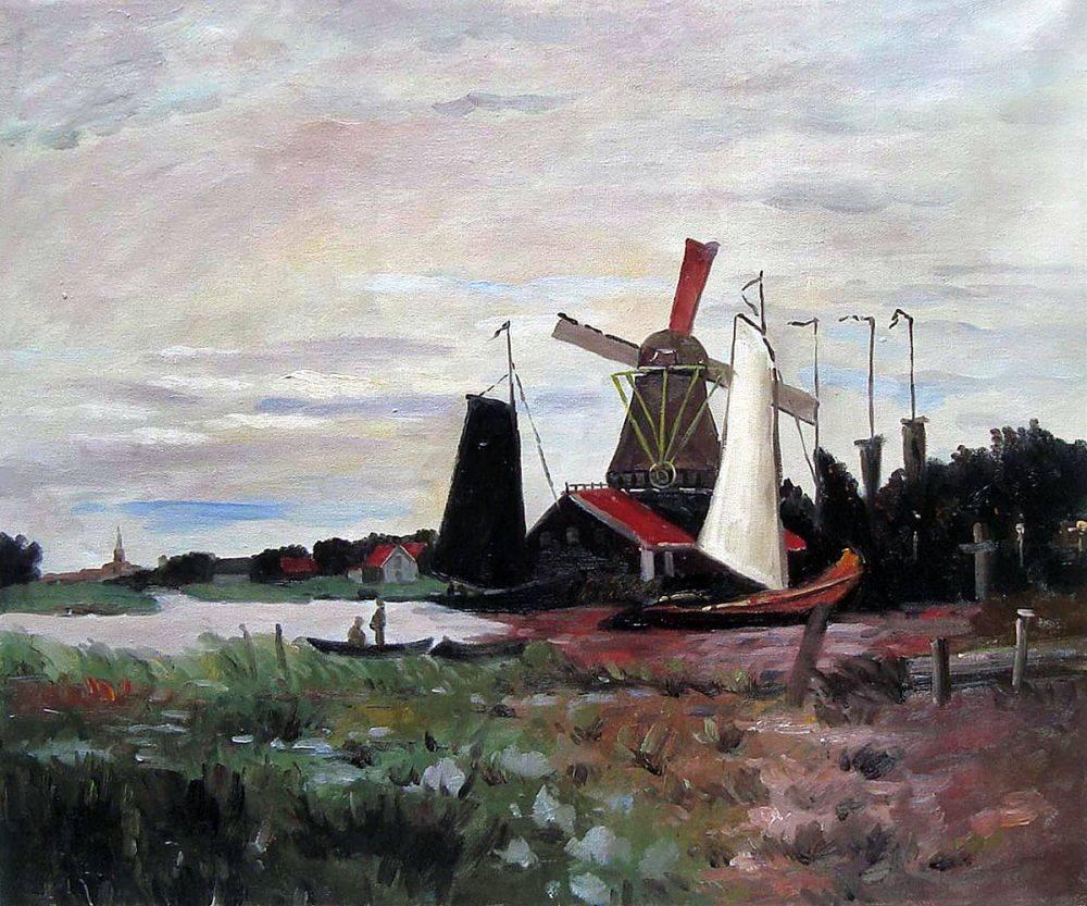 Windmill at Zaandam II
