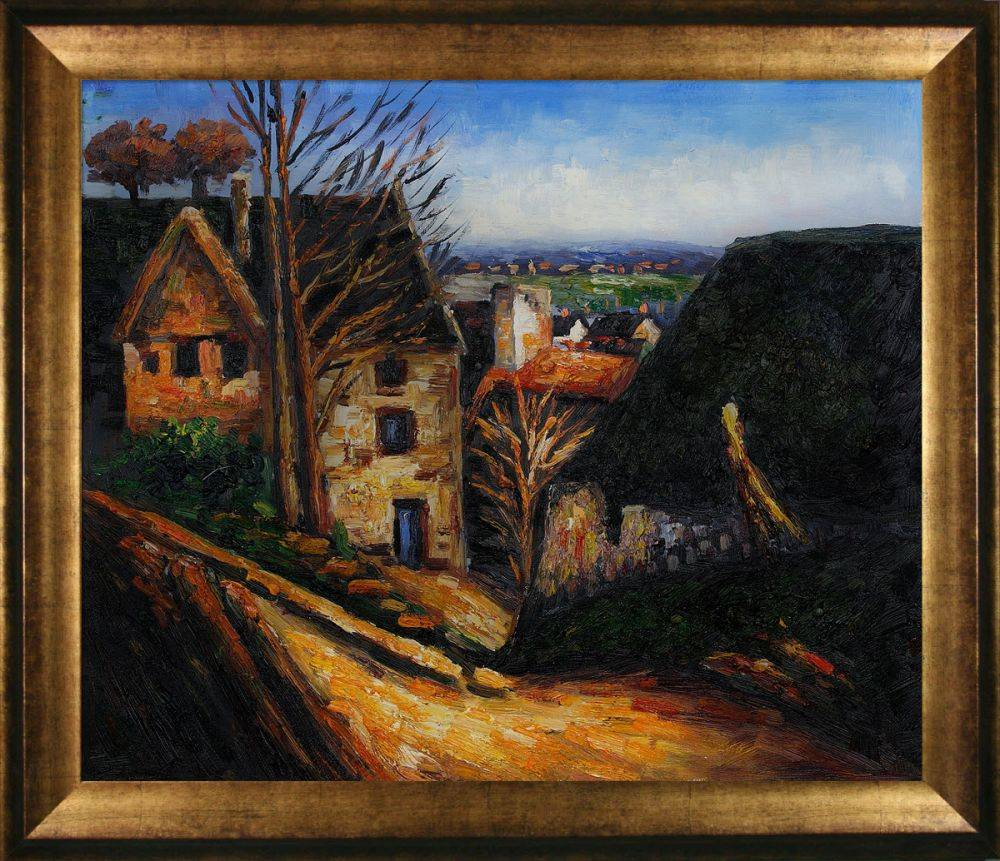 The House of the Hanged Man at Auvers Pre-Framed