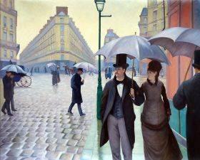 A Paris Street, Rainy Day