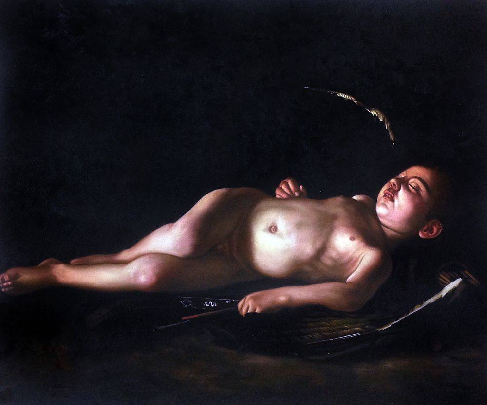 Sleeping Cupid, 1608