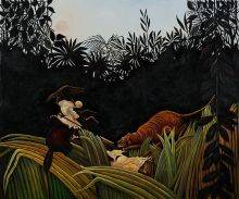 Eclaireurs Attaques par un Tigre