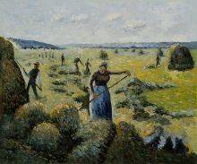 The Hay Harvest Eragny