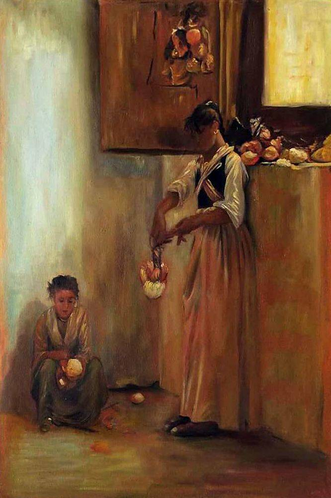 Stringing Onions