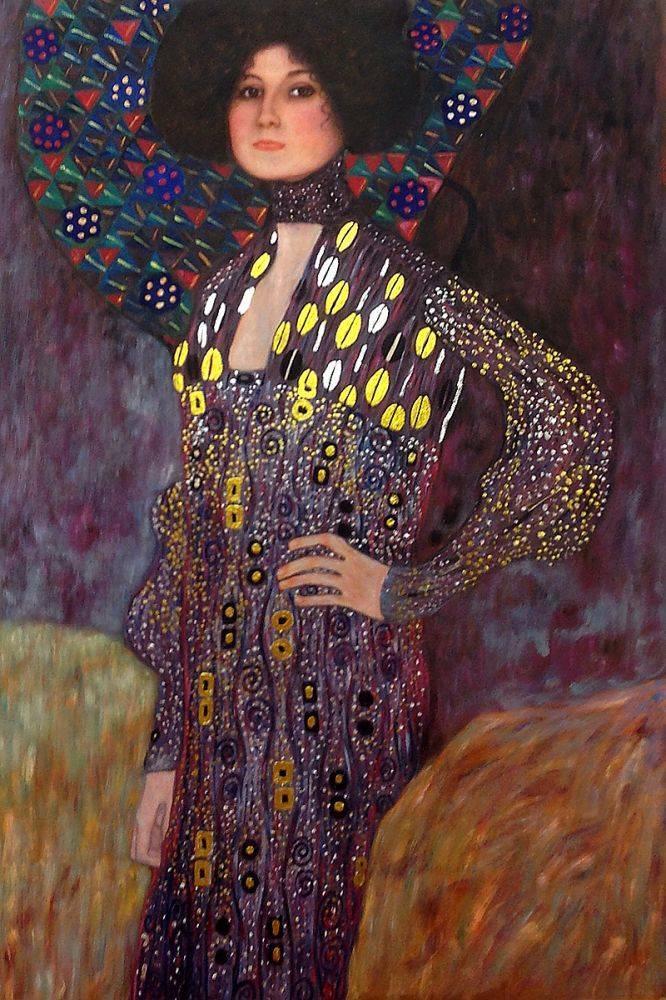 Portrait of Emilie Floge (Luxury Line)