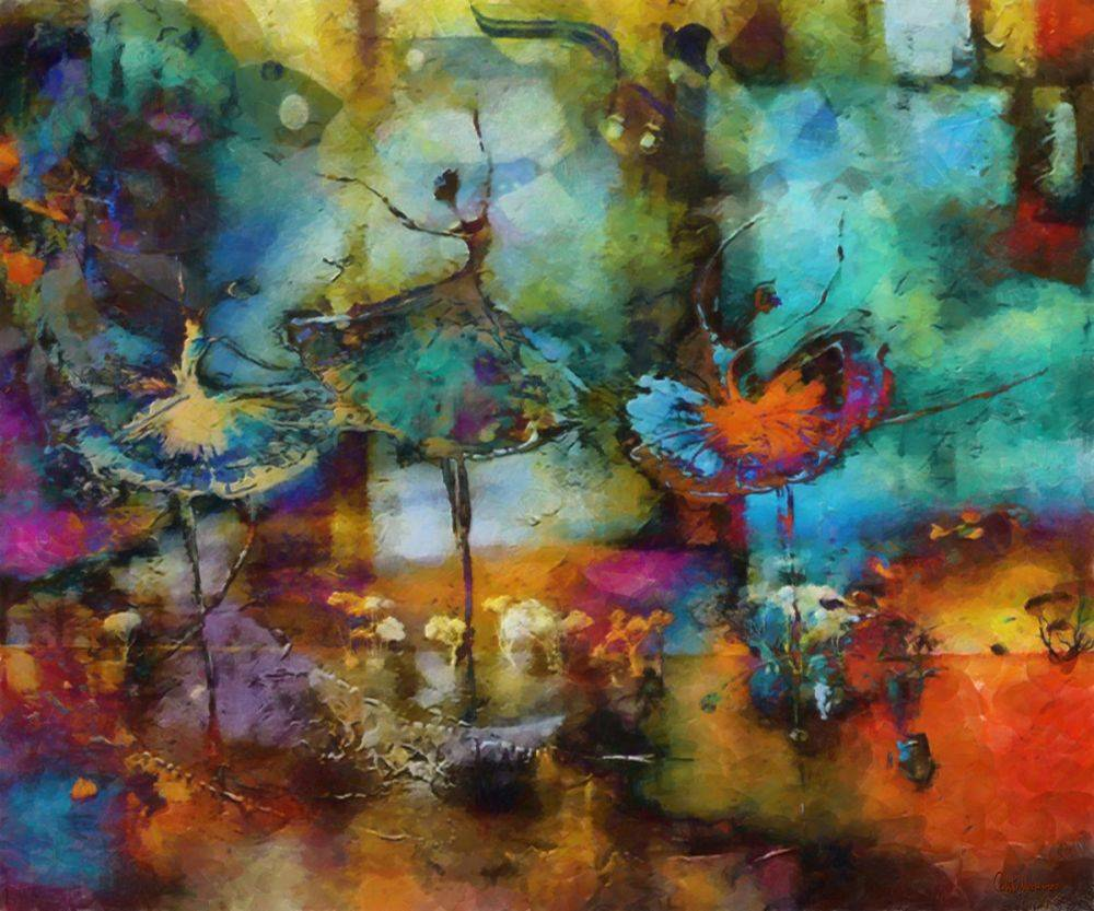 Watercolor Ballet