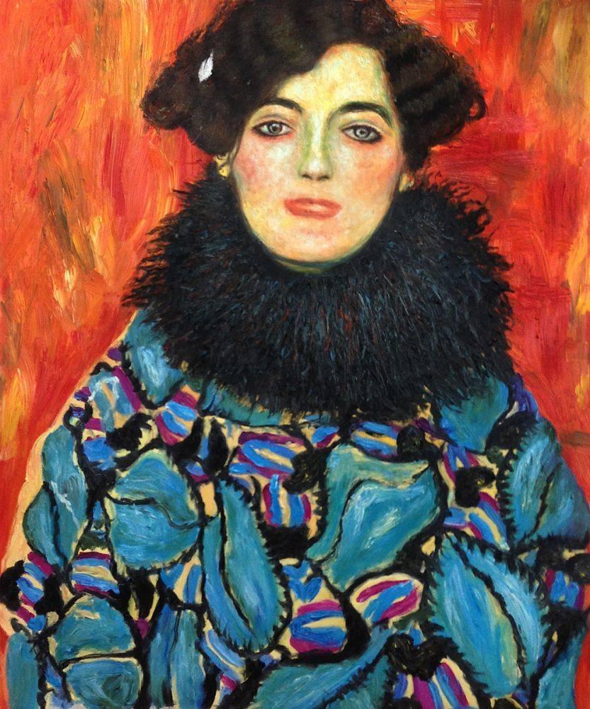 Portrait of Johanna Staude, 1917-1918