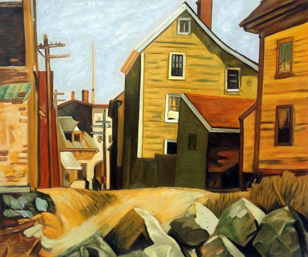 Edward Hopper, Italian Quarter - overstockArt