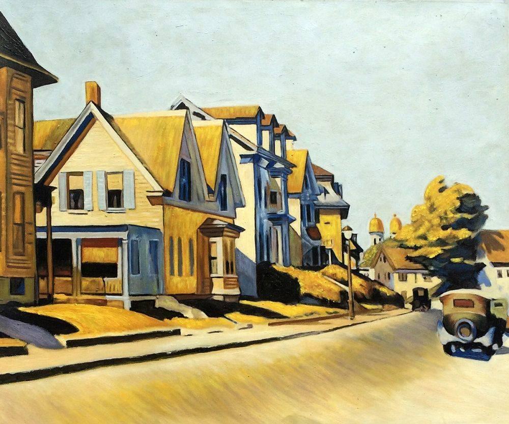 Street Scene, Gloucester, 1934