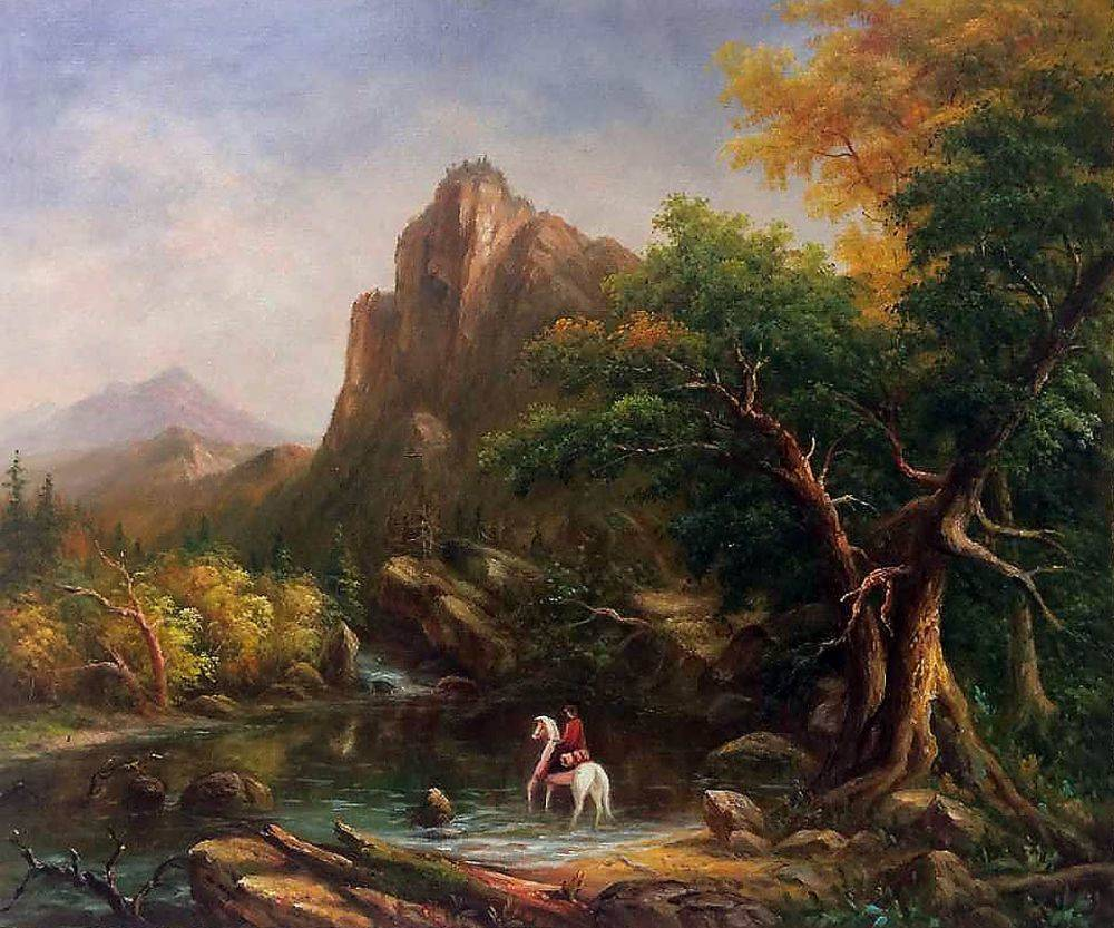 The Mountain Ford, 1846