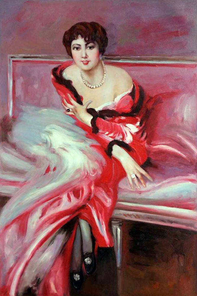 Portrait Of Madame Juillard In Red, 1912