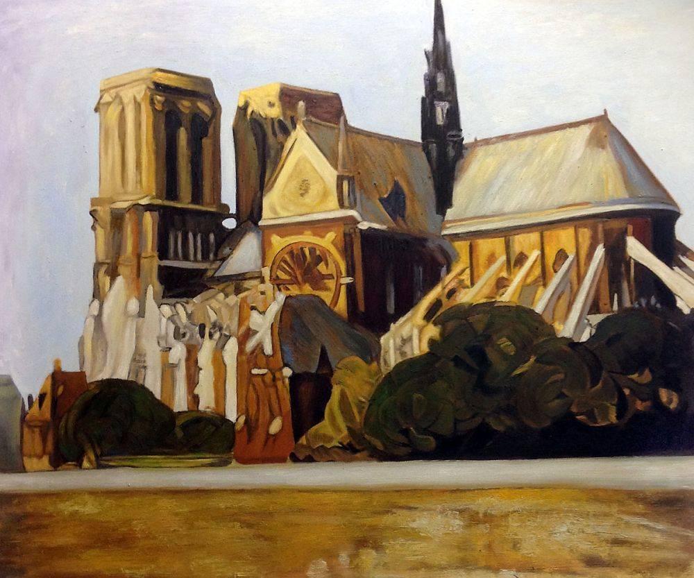 Notre Dame de Paris, 1907