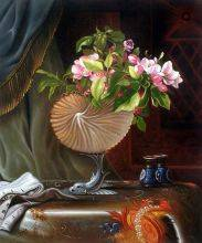 Still Life with Apple Blossoms in a Nautilus Shell, 1870