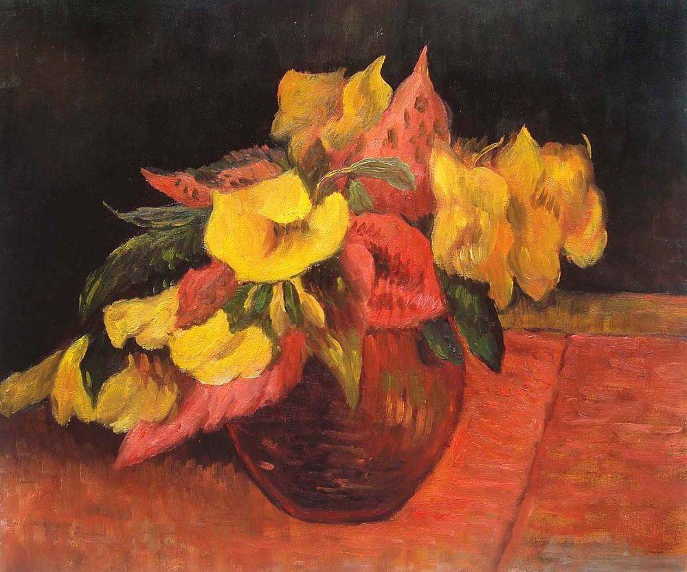 Evening Primroses in the Vase, 1885