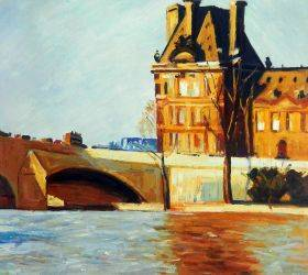 Les Pont Royal, 1909