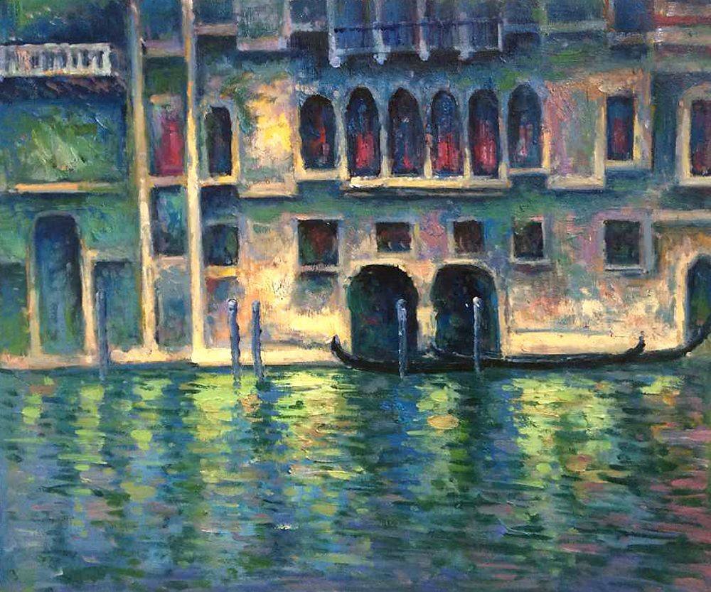 Palazzo da Mula at Venice, 1908