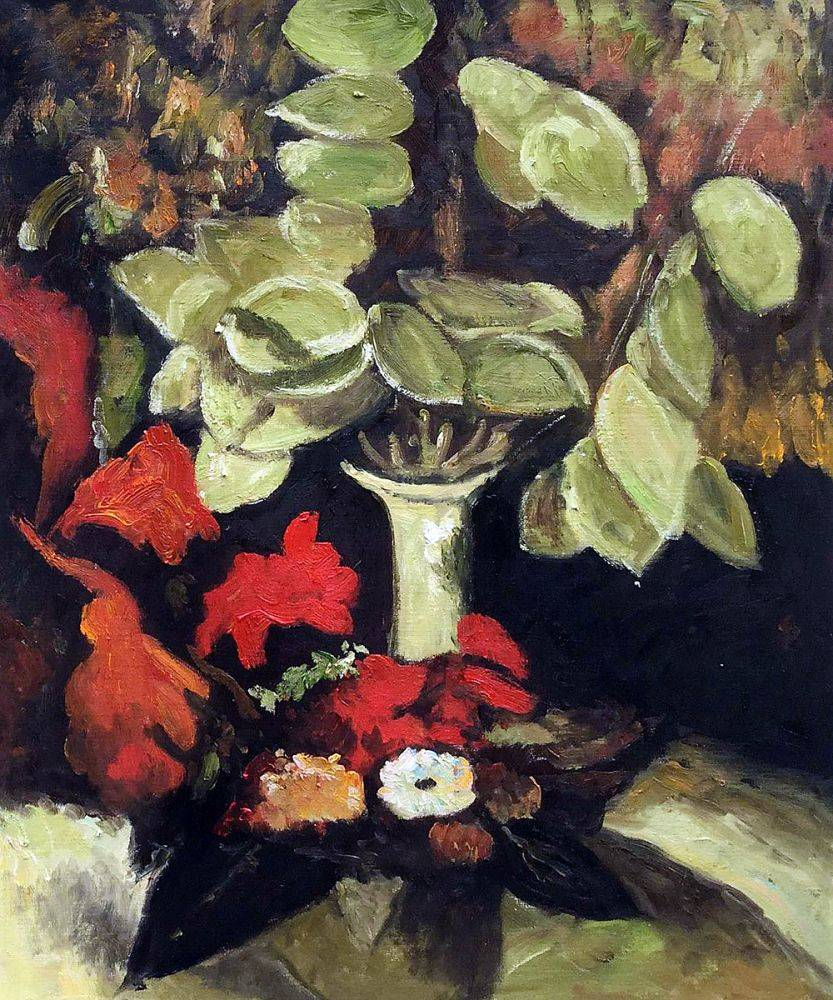 Vase with Honesty, 1884