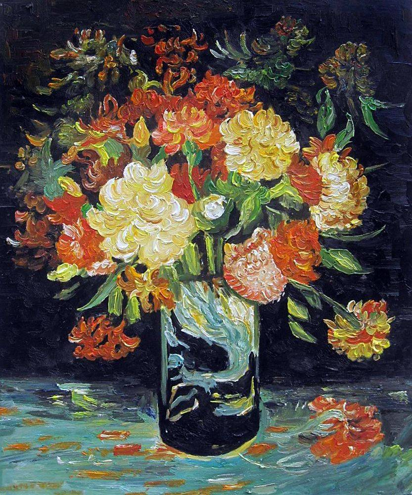 Vase with Carnations, 1886