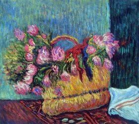 Basket of Flowers, 1884