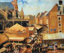The Fair in Dieppe, Sunny Morning