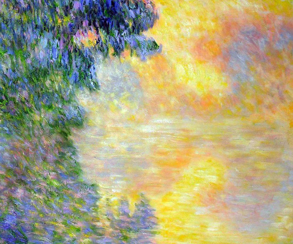 Misty Morning on the Seine, Sunrise, 1897