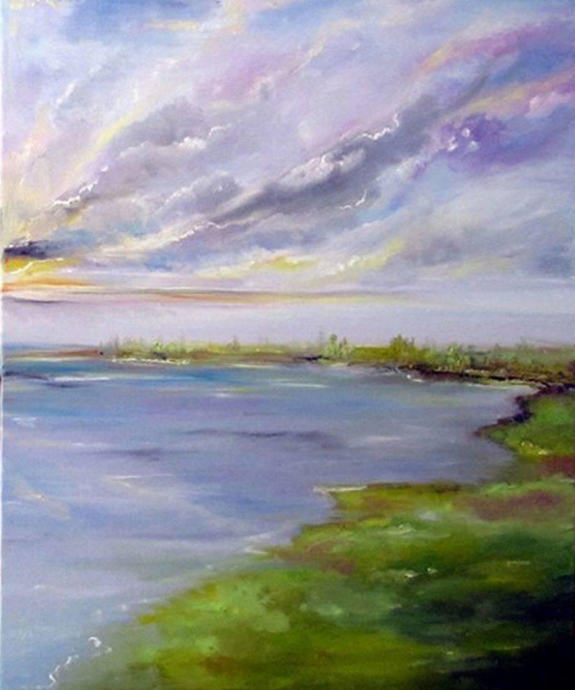 Horizon2 double painting