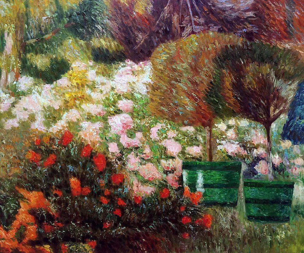 A Corner of My Garden, 1901
