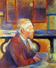 Portrait de Vincent van Gogh, 1887