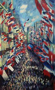La Rue Montorgueil, Paris, Festival of June