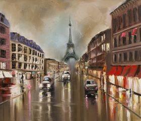 Quiet Rainy Street