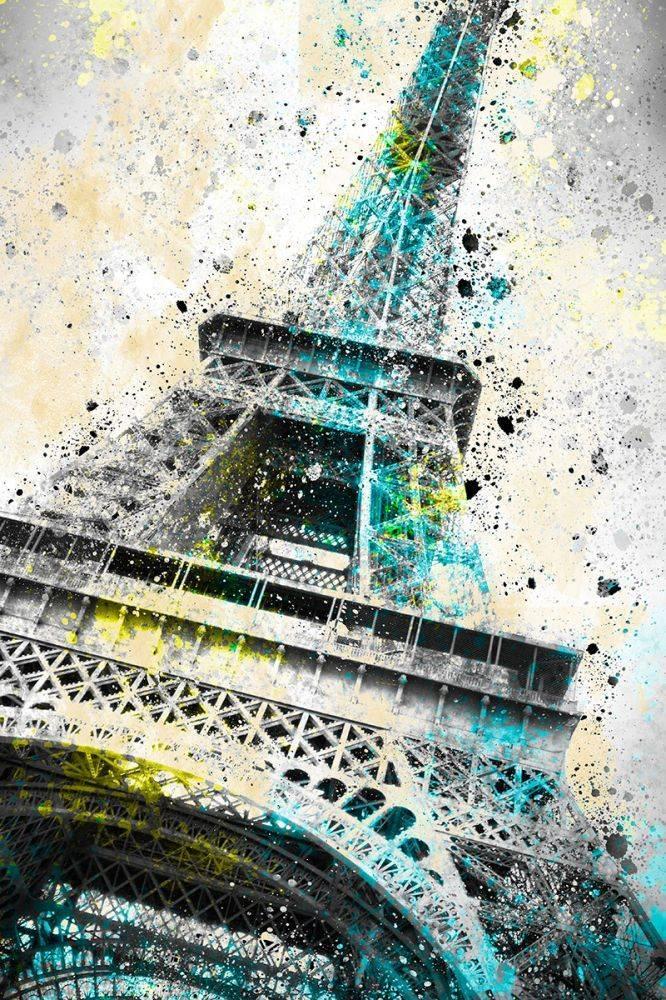 City Art, Paris Eiffel Tower IV