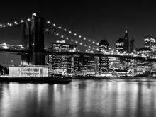 Night Skyline, Manhattan Brooklyn Bridge