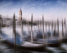 City Art, Venice Grand Canal and St Marks Campanile