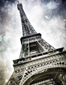 Modern Art, Paris Eiffel Tower Splashes