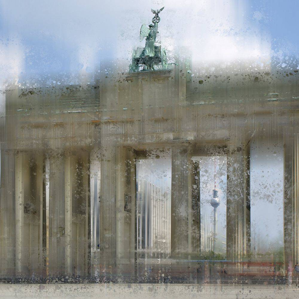 City Art, Berlin Brandenburg Gate
