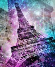 Pop Art, Eiffel Tower