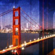 City Art, Golden Gate Bridge Composing