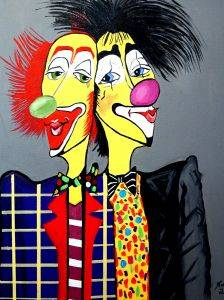 Clown, Two Heads Are Better Than One