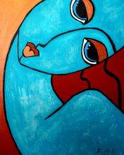 Picasso by Nora, Feeling Blue